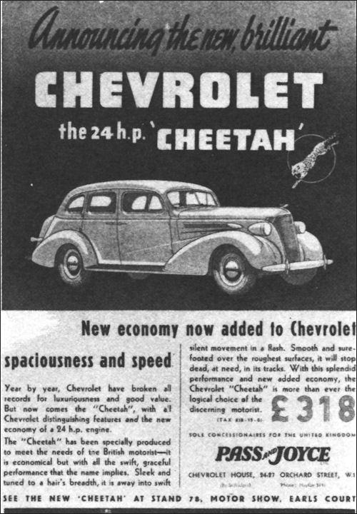 Roku Box Canada: Chervrolet 1937