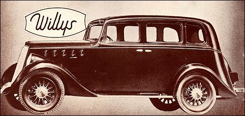 Willys Overland 1936