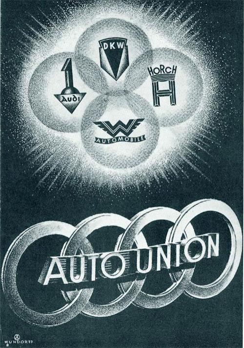 Auto Union poster 1934